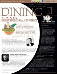 ANNUAL EDUCATIONAL CONFERENCE DiRo-NA'S
