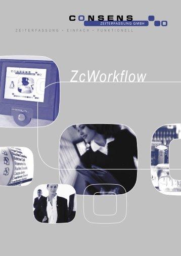 ZcWorkflow - Consens Zeiterfassung GmbH