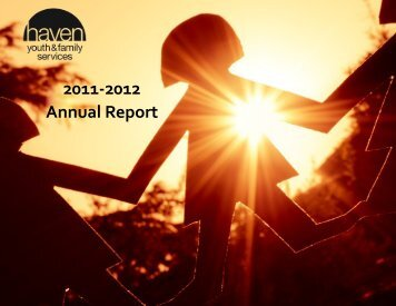 to download Haven's FY2012 Annual Report - Haven Youth and ...