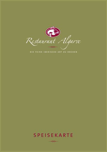 Download Speisekarte - Restaurant Algarve