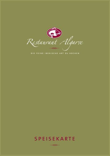Download Speisekarte - Restaurant Algarve