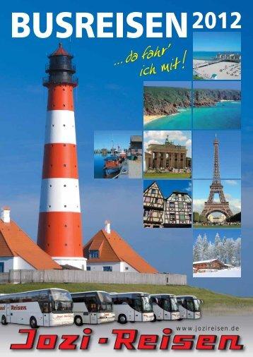 Urlaub in Nordfriesland - Jozi-Reisen GmbH