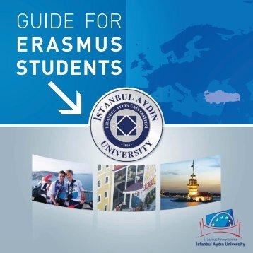 Erasmus Rehber Mon. - ERASMUS Dear