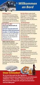 Tagesfahrten mit Kultur 2012 - Geldhauser - Page 2