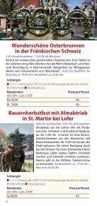 Tagesfahrten mit Kultur 2012 - Geldhauser - Page 6