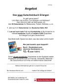 Gutscheinbuch Erlangen - Gesamtpersonalrat der Universität ... - Seite 2