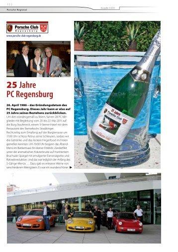 25 Jahre PC Regensburg - Porsche Club Deutschland