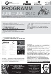 26 07 - Jazzclub Regensburg
