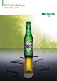 2007 Sustainability Report - Heineken NV Sustainability Report 2011