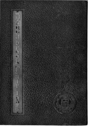 1928 - Goucher College