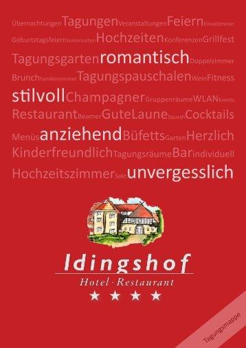 Die Konferenzräume! - IDINGSHOF Hotel & Restaurant