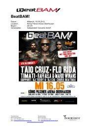 BeatBam! 2012 geht in die erste Runde