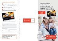 Die Deutschland RENTE MasterCard - Santander Consumer Bank