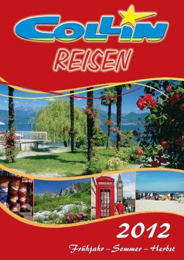 4 ErlEbnisrEisEn - Collin-Reisen
