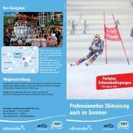 Professionelles Skitraining auch im Sommer - Kletterpark Neuss