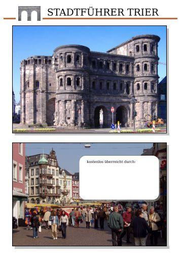STADTFÜHRER TRIER - Treverguide, der kostenlose Stadtführer ...