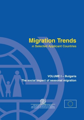 "social impact of migration They do not venture into providing policy prescriptions and accept that their  analysis does ""not take into account the potential social impacts of higher  migration."