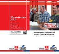 Wissen buchen für BRs - Mönchengladbach - DGB-Bildungswerk ...