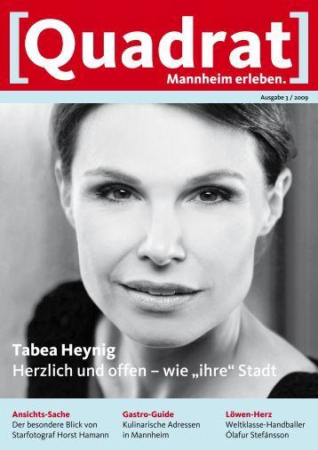 Tabea Heynig Herzlich und offen - Tourist Information Mannheim