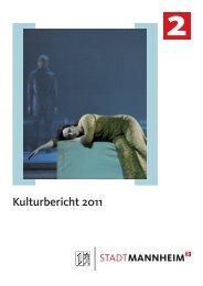 Kulturbericht 2011 - M:Con