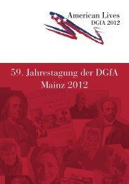 59. Jahrestagung der DGfA Mainz 2012 - Johannes Gutenberg ...