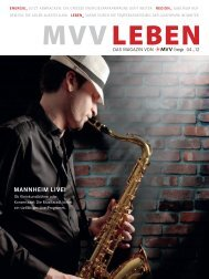 MannhEiM LivE! - MVV Energie AG