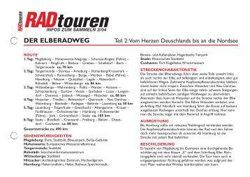 der elberadweg - Radtouren Magazin