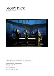MOBY DICK - Puppentheater Magdeburg