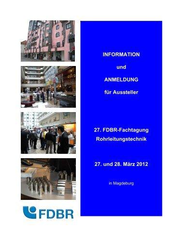 Aussteller 2012 - FDBR