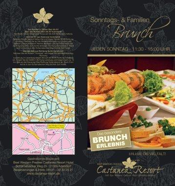 Brunch - Best Western Premier Castanea Resort