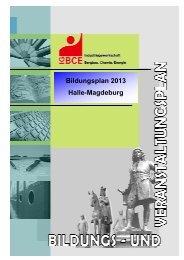Seminare für ehrenamtliche Richter - IG BCE - HALLE-MAGDEBURG