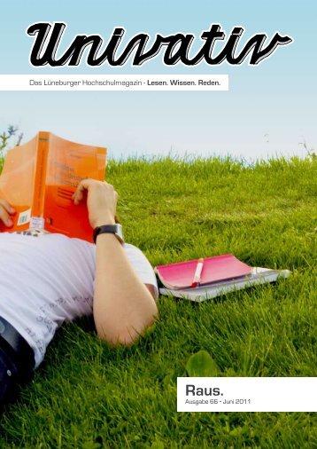 Das Lüneburger Hochschulmagazin - Leuphana Universität Lüneburg