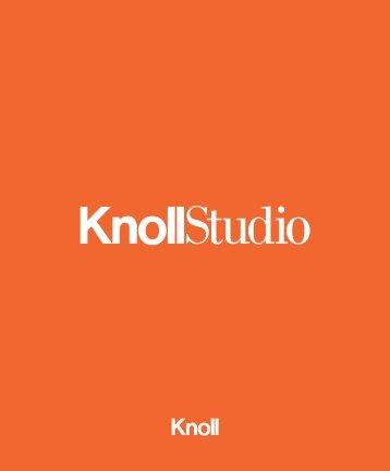 Studio Cover.indd - Knoll