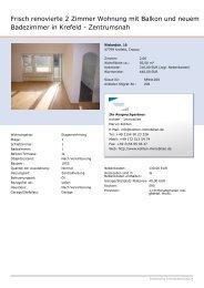 Expose anzeigen - Kohten Immobilien Willich