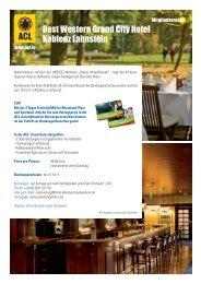 Best Western Grand City Hotel Koblenz Lahnstein - ACL