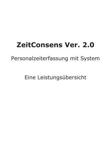 ZeitConsens Ver. 2.0 - Franz Just & Söhne