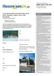 Düsseldorf - Koblenz - Bonn - Köln - Flussreisen 24