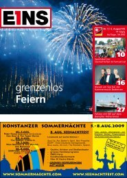 Nr.5 | 6. August `09 (PDF) - E1NS-Magazin