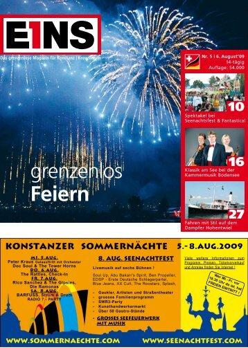 Nr.5 | 6. August `09 (PDF) - E1NS-Magazin