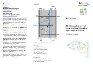 schen Systemen: Methoden, Monitoring, Bewertung - Setac GLB