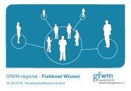 Einstiegspräsentation zum 1. Fishbowl Wissen, Kiel - GfWM