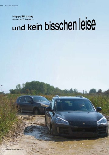 Happy Birthday - Porsche Club Deutschland