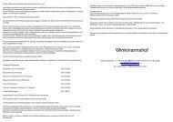Goldene Regeln & AGB Winkmannshof