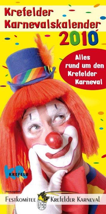 Krefelder Karnevalskalender - Festkomitee Krefelder Karneval eV