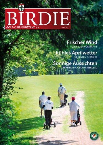 Birdie 1/2012 - Golfclub Konstanz