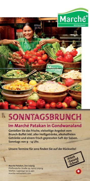 SONNTAGSBRUNCH - Marché Restaurants