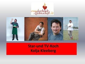 Sedcard von Kolja Kleeberg - Kochende Leidenschaft