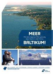 GÜNstiG iNs Baltikum & NaCh russlaNd - DFDS Seaways