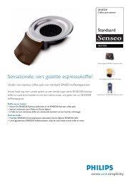 HD7001/00 SENSEO® Coffee pad-systeem - ICEcat.biz