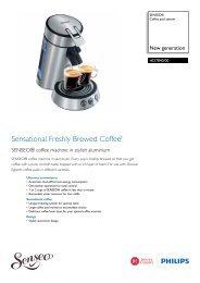 HD7840/00 SENSEO® Coffee pod system - Philips